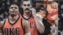 Video: Russell Westbrook shows proof of Steven Adams' legendary appetite