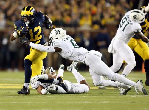 Michigan football vs. Michigan State to kick off at noon on Oct. 20