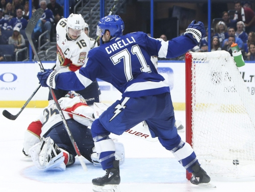 Lightning journal: Penalty kill off to strong start; lines shuffled Monday