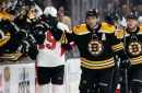 Patrice Bergeron hat trick sends Senators to 1st regulation loss