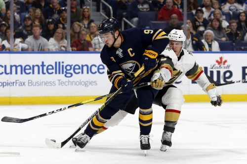 Year 2, Game 3: Golden Knights fall to Sabres 4-2 in sloppy road defeat