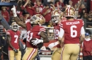 49ers have lengthy injury report, bring in running backs for workout