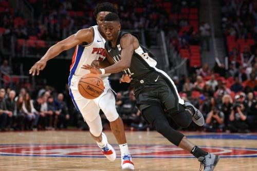 Crabbe injured as Nets defeat Pistons in preseason thriller, 110-108