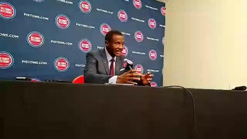 Detroit Pistons coach Dwane Casey likes Bruce Brown's competitiveness