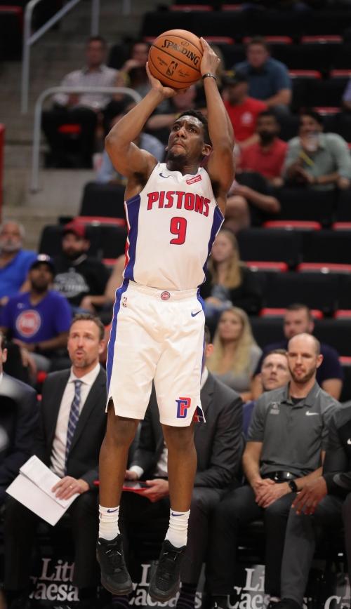 Detroit Pistons' Langston Galloway making strong bid for playing time