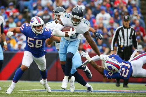 Buffalo Bills snap counts vs. Tennessee Titans