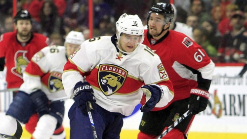 Aleksander Barkov getting used to being referred to as a star