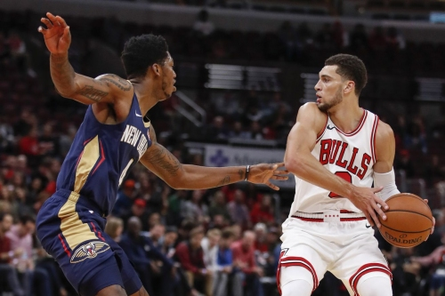 Last year the Bulls were moving themselves and the ball. It's yet to translate into a good offense