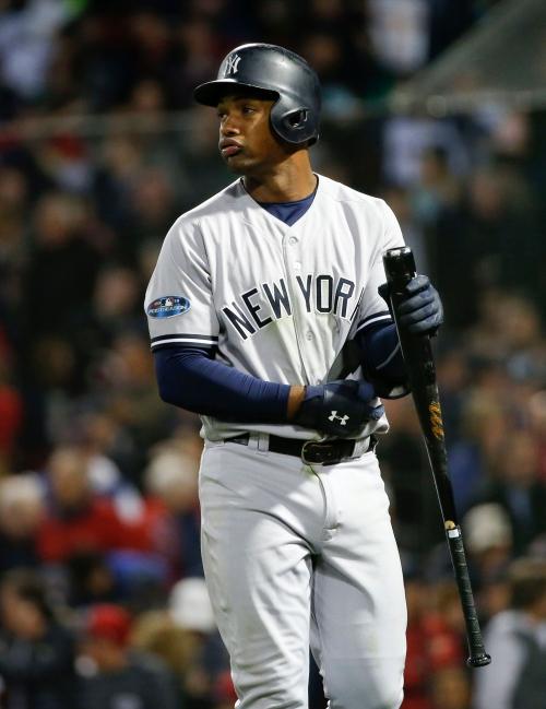 New York Yankees lineup vs. Red Sox as Miguel Andujar, Andrew McCutchen sit