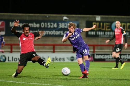 Stoke City u21s edge towards Checkatrade Trophy knock-out stages thanks to win at Morecambe