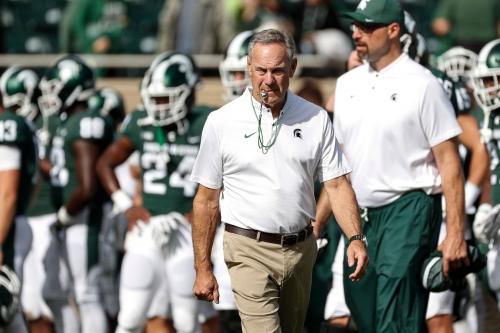 Michigan State football's Mark Dantonio won't 'micromanage' assistants