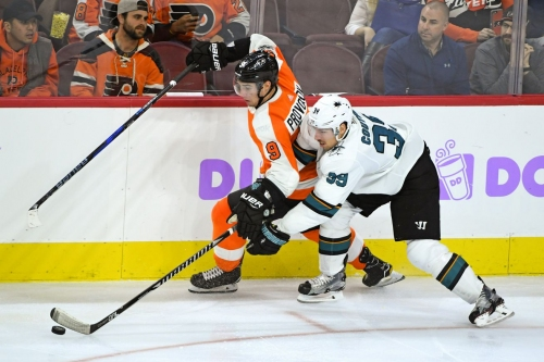 Sharks at Flyers: Lines, gamethread, and where to watch