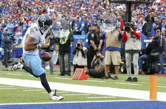 Titans waive WR Williams after big drop against Buffalo