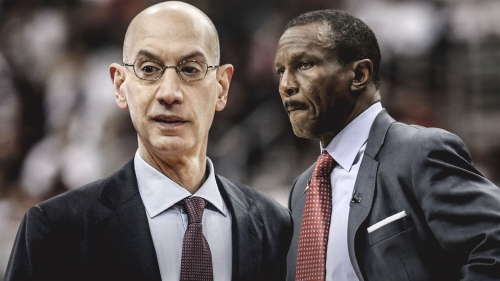 Pistons coach Dwane Casey credits Adam Silver for the league being diverse