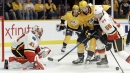 Smith, Monahan lead Flames over Predators