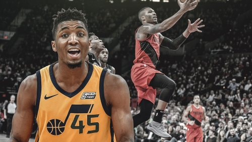 Donovan Mitchell hoping to follow in Damian Lillard's footsteps by one day getting Adidas signature shoe