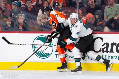 Unlike the Flyers, we got a few good shots