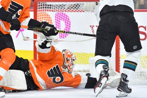 Sharks 8, Flyers 2: The home has been opened