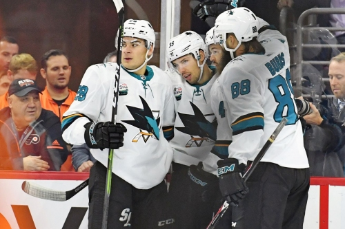 Quick Bites: Sharks bounce back with statement against Flyers