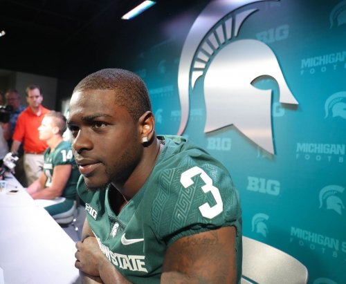 Michigan State football's LJ Scott cited for more driving infractions