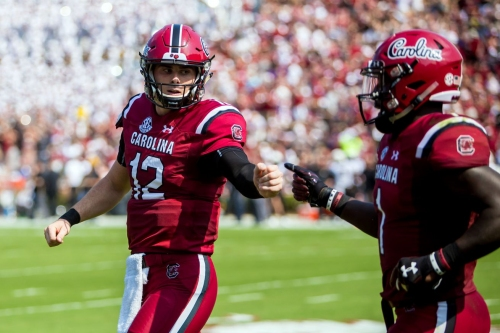 Does South Carolina really have a quarterback controversy?