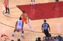 NBA officials confirm James Harden didn't travel on step-back jumper
