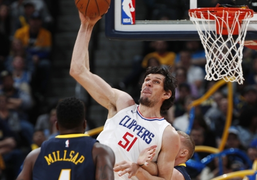 Clippers' Boban Marjanovic is putting on a good show during preseason