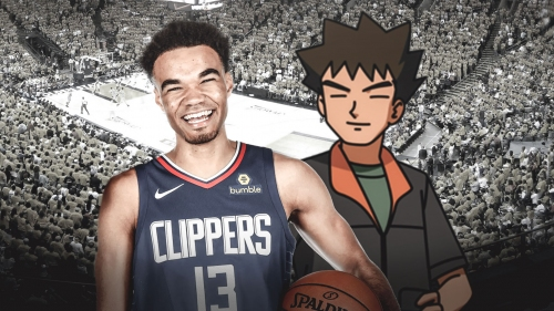 Clippers' Jerome Robinson admits to looking like Brock from Pokemon
