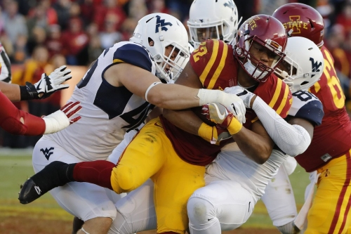 Three Guarantees For West Virginia Against Iowa State