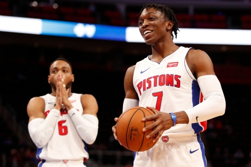 Can Pistons' Stanley Johnson shoot well enough to remain a starter?
