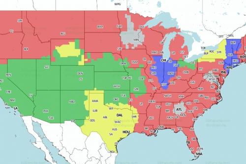 Bills vs. Texans: TV broadcast map, announcers