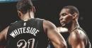 Hassan Whiteside misses Chris Bosh a lot