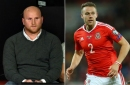 John Hartson's X-rated slip over Chris Gunter's name during Wales v Spain commentary
