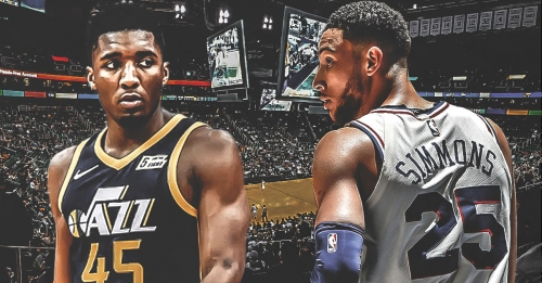 Jazz's Donovan Mitchell says rivalry with Sixers' Ben Simmons has 'competitive tension'