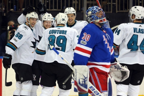 Sharks at Rangers: Lines, gamethread and where to watch