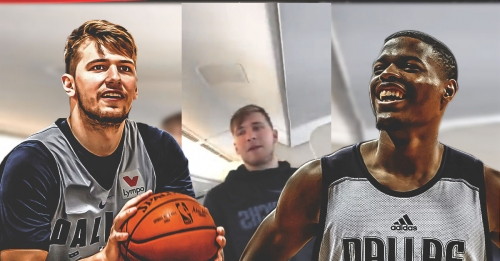 Video: Mavs' Luka Doncic absolutely roasts Dennis Smith Jr. on his Facebook Live