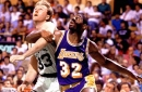 This Day In Lakers History: Magic Johnson Plays Against Larry Bird For Final Time