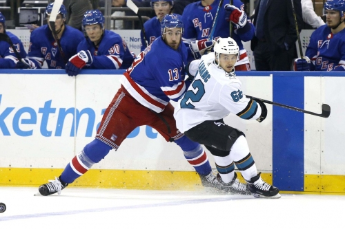 Sharks 2, Rangers 3 (OT): Defeat snatched from the jaws of victory