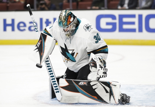 Takeaways: Aaron Dell is the Sharks best goalie right now