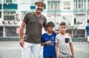 Eric Cantona joins Manchester United player Juan Mata in Common Goal