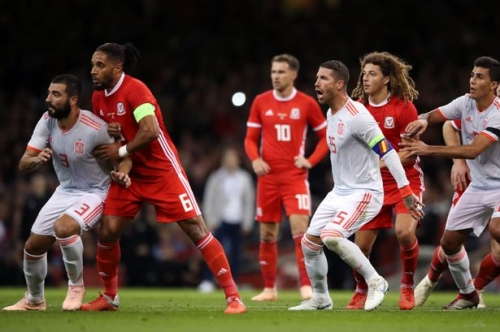 Stoke City defender struggles as Wales are beaten by slick Spain
