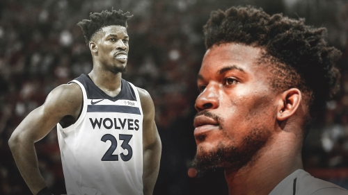 Timberwolves' Jimmy Butler not with team in Milwaukee