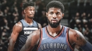 Thunder's Paul George says he's on Jimmy Butler's side in standoff with Timberwolves