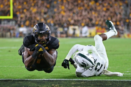 ASU Football Top Plays so far: Harry's game-tying touchdown against MSU