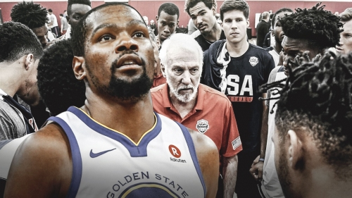 Warriors forward Kevin Durant dives into the real dynamics of Team USA for NBA stars