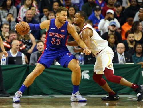 Blake Griffin, Detroit Pistons bury Cavaliers with barrage of 3s