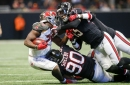 Falcons injury update: Derrick Shelby ruled out for Buccaneers game; Devonta Freeman dealing with two injuries