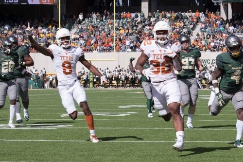 No. 9 Texas Longhorns vs. Baylor Bears: Game thread