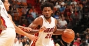 Justise Winslow signs extension with Heat rocking Dwyane Wade shirt
