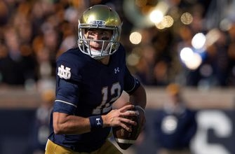 No. 5 Notre Dame comes from behind to beat Pittsburgh